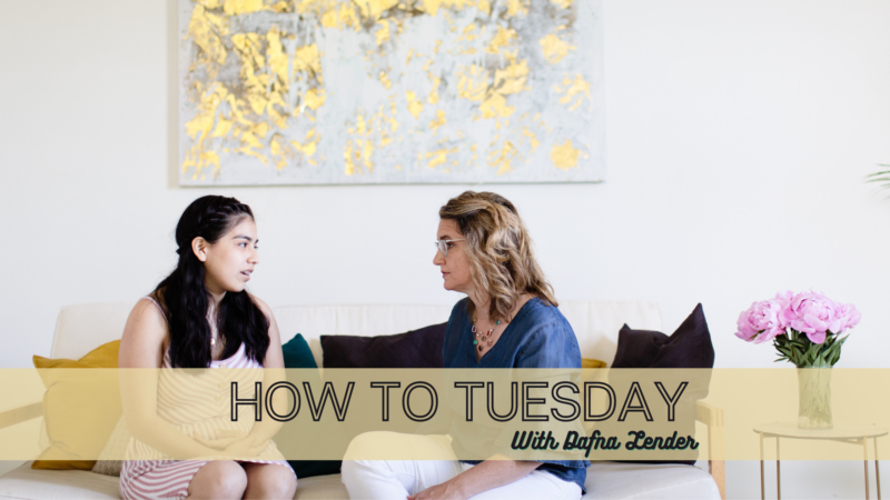 HOW TO TUESDAY 1409