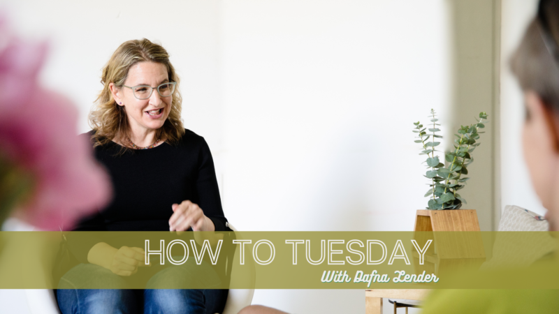 HOW TO TUESDAY 2408